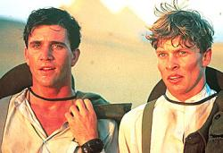 Mel Gibson and Mark Lee in Gallipoli.