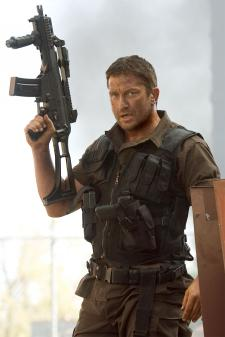 Gerard Butler as Kable, in Gamer.