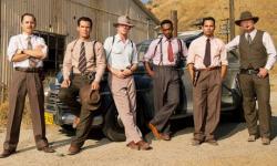 Giovanni Ribisi, Josh Brolin, Ryan Gosling, Anthony Mackie, Michael Pena and Robert Patrick are the Gangster Squad.