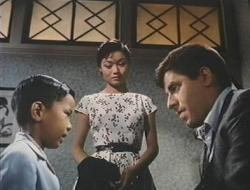 Robert Hirano, Nobu McCarthy and Jerry Lewis in The Geisha Boy