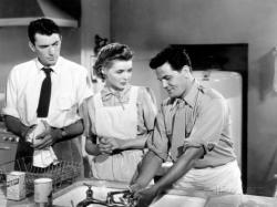Gregory Peck, Dorothy McGuire and John Garfield in Gentleman's Agreement