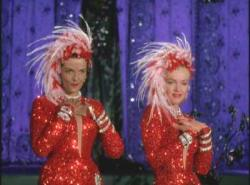 Jane Russell and Marilyn Monroe in Gentlemen Prefer Blondes.