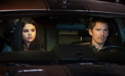 Selena Gomez and Ethan Hawke in Getaway.