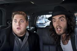 Jonah Hill and Russell Brand in Get Him to the Greek.