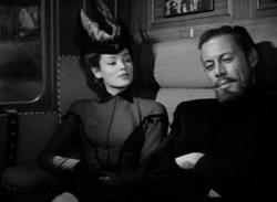 Gene Tierney and Rex Harrison in The Ghost and Mrs. Muir