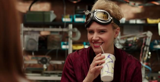 Kate McKinnon in Ghostbusters.