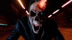 Nicolas Cage in Ghost Rider: Spirit of Vengeance.