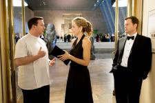 Gervais, Leoni and Kinnear in Ghost Town.