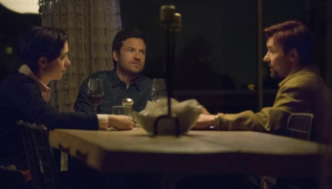 Rebecca Hall, Jason Bateman, and Joel Edgerton in The Gift.