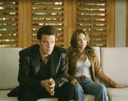 Ben Affleck and Jennifer Lopez in Gigli.