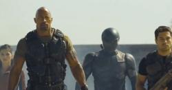 Adrianne Palicki, Dwayne Johnson, Ray Park and D.J. Cotrona in G.I. Joe: Retaliation.