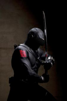 The Joes are back, including my favorite, Snake Eyes, played by Ray Park.
