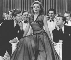 Judy Garland driving some boys Girl Crazy