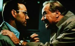 Kevin Spacey and Jack Lemmon in Glengarry Glen Ross.