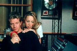 Max Beesley and Mariah Carey in Glitter.