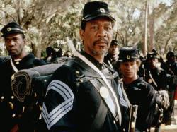 Morgan Freeman in Glory.