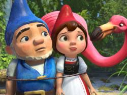 James McAvoy and Emily Blunt voice Gnomeo and Juliet.