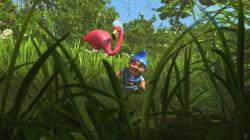Featherstone and Gnomeo in Gnomeo and Juliet.