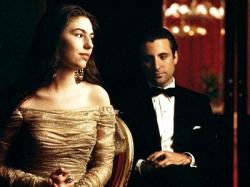 Sofia Coppola and Andy Garcia in The Godfather: Part III.