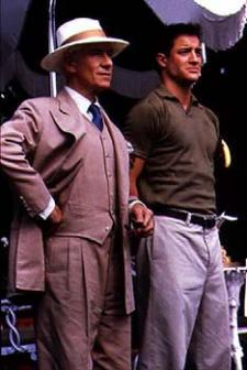 McKellen and Fraser in Gods and Monsters.