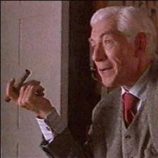 Ian McKellen delivers a great performance as director James Whale.