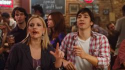 Drew Barrymore and Justin Long in Going the Distance.