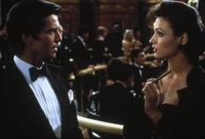 Pierce Brosnan, in his debut, turns in a great performance as 007.