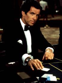 Pierce Brosnan as Bond, James Bond in Goldeneye.