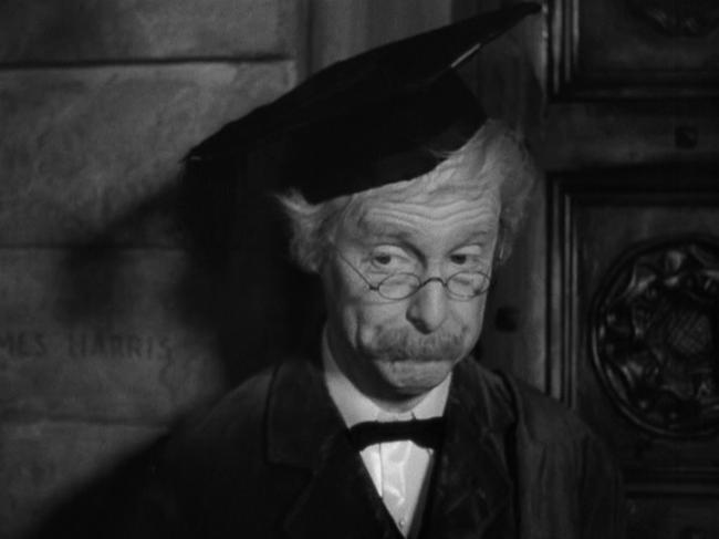 Robert Donat in Goodbye, Mr. Chips.