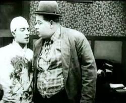 Buster Keaton and Roscoe (Fatty) Arbuckle in Good Night, Nurse!.