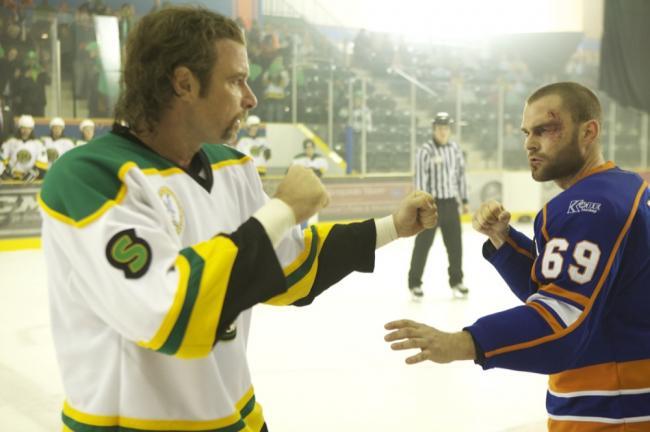 Liev Schreiber and Sean William Scott in Goon