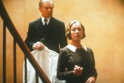Derek Jacobi and Helen Mirren in Gosford Park.