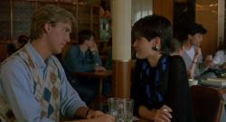 Anthony Edwards and Linda Fiorentino in Gotcha!.