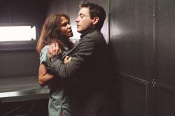 Halle Berry and Robert Downey Jr. in Gothika.