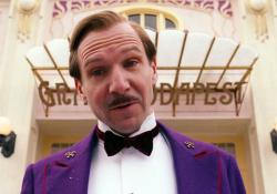 Ralph Fiennes in The Grand Budapest Hotel.