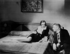 Joan Crawford and Wallace Beery.