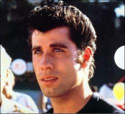 John Travolta in Grease.