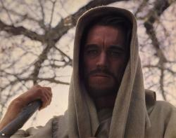 Max von Sydow in The Greatest Story Ever Told.
