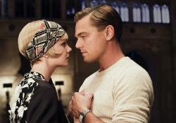 Carey Mulligan and Leonardo DiCaprio in The Great Gatsby.