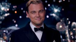 Leonardo DiCaprio is The Great Gatsby.