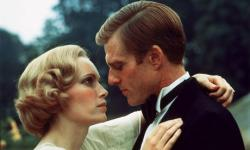Mia Farrow and Robert Redford in The Great Gatsby.