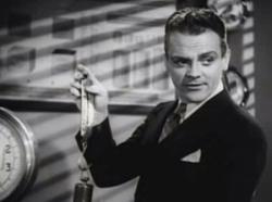 James Cagney making sure everyone measures up in Great Guy
