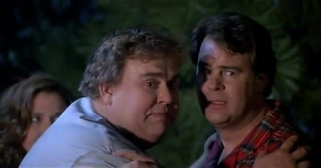 John Candy and Dan Akroyd in The Great Outdoors