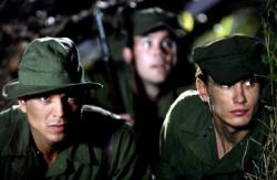 Benjamin Bratt and James Franco in The Great Raid.