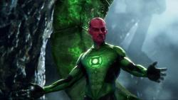 Mark Strong as Sinestro in Green Lantern.