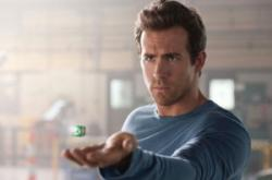 Ryan Reynolds as Hal Jordan in Green Lantern.