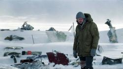 Liam Neeson with a disaster on his hands in The Grey.