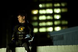 Ryan Kwanten as Griff the Invisible pondering what is more important, the truth or the truth that makes you happy?