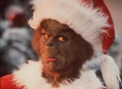 Jim Carrey in How the Grinch Stole Christmas.