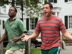 Chris Rock and Adam Sandler in Grown Ups 2